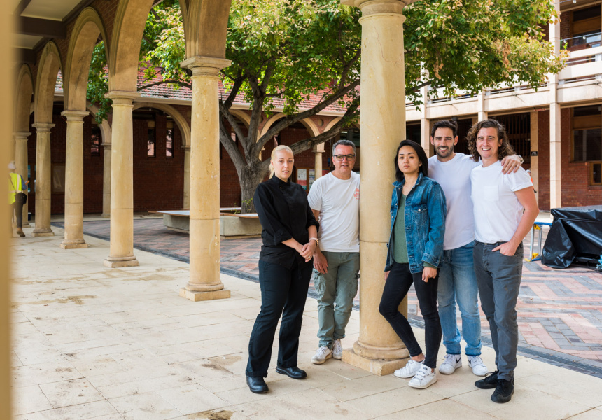 Rhiannon Pinneri, Roberto Cardone, Selvina Limm, Frankie Marafioti, Stuart Duckworth