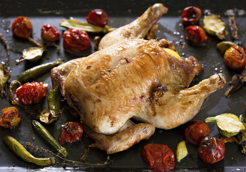 Dan Hunter's roast chicken