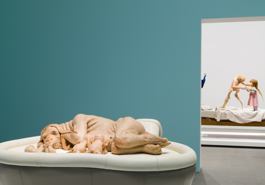 Patricia Piccinini: Curious Affection' at Brisbane's Gallery of Modern Art, 2018
