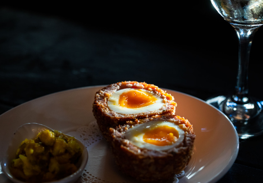 Scotch egg at the Old Fitzroy