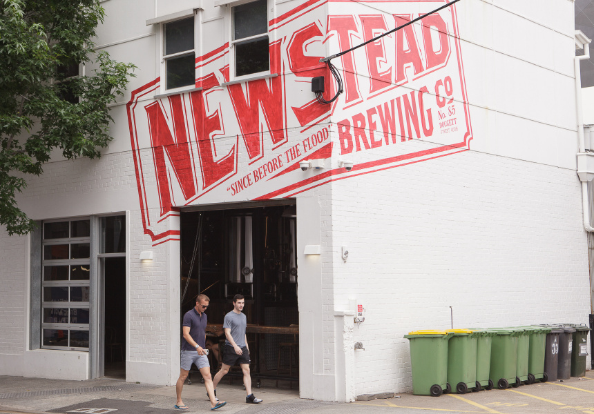 The original Newstead Brewing site
