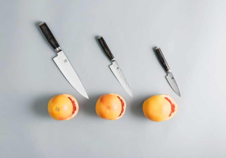 Shun Japanese knives (3-piece set)