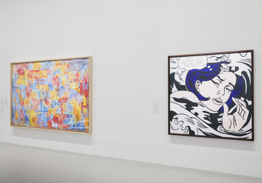 Exhibition image of MoMA at NGV:  130 Years of Modern and Contemporary Art, 2018 on display at  NGV  International from 9 June – 7 October