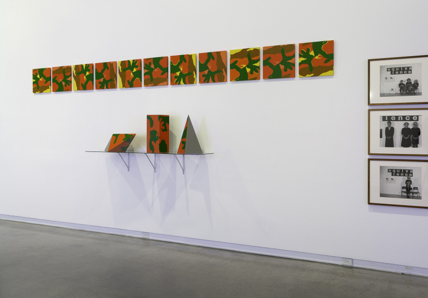 Installation view Temptation to Co-Exist: Janet Burchill and Jennifer McCamley Heide Museum of Modern Art, Melbourne