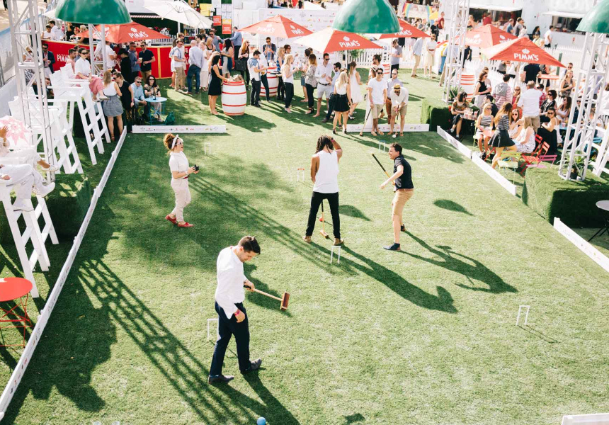 Royal Croquet Club Melbourne 2015