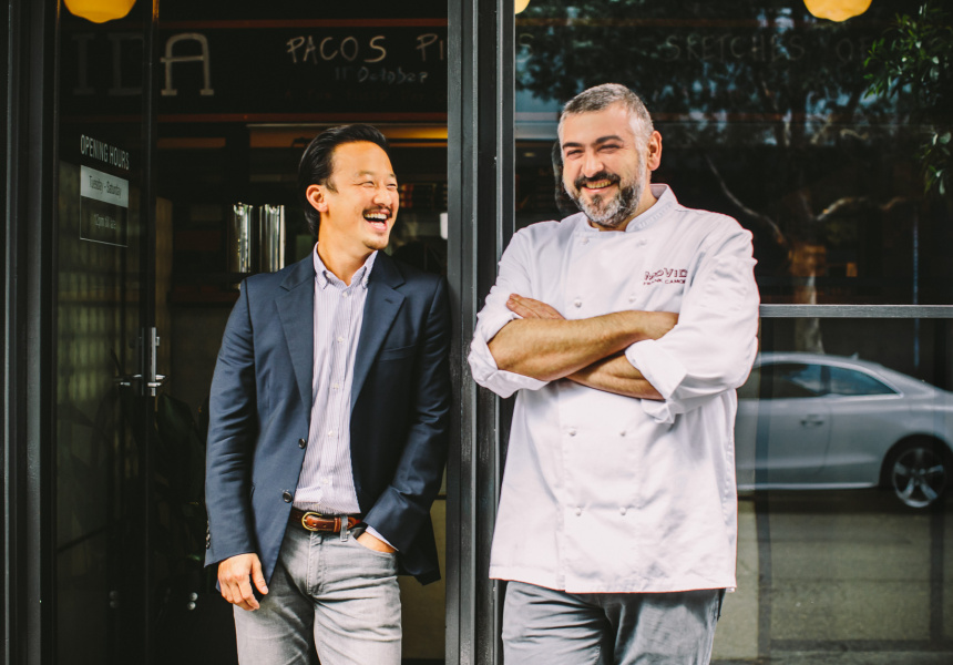 Potato Head co-owner Ronald Akili and Movida co-owner Frank Camorra