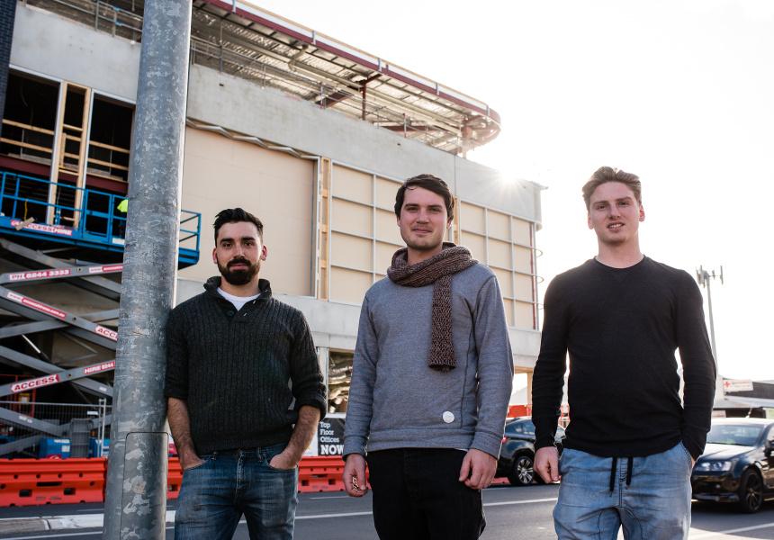 Mattis, Lukas and Liam Vanzati