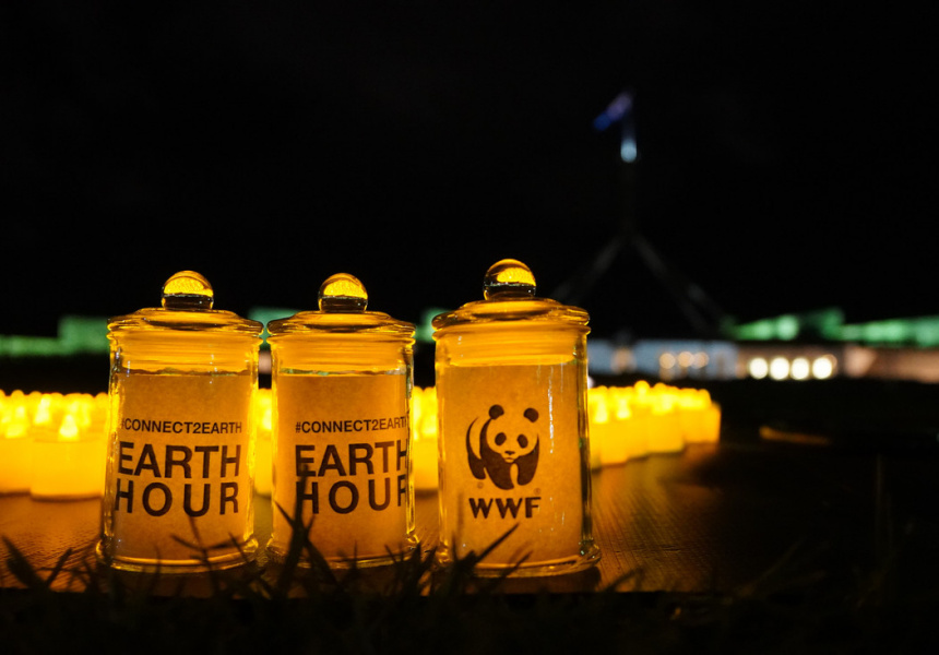Earth Hour 2019, Canberra