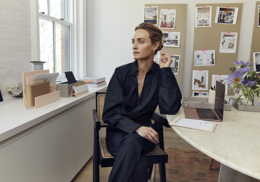 The Daily Edited's latest campaign with Amber Valletta