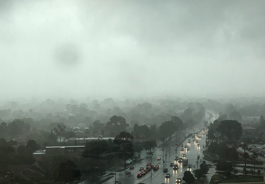 View from Chadstone at 2.15pm