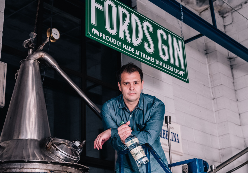 Simon Ford at Thames Distillers