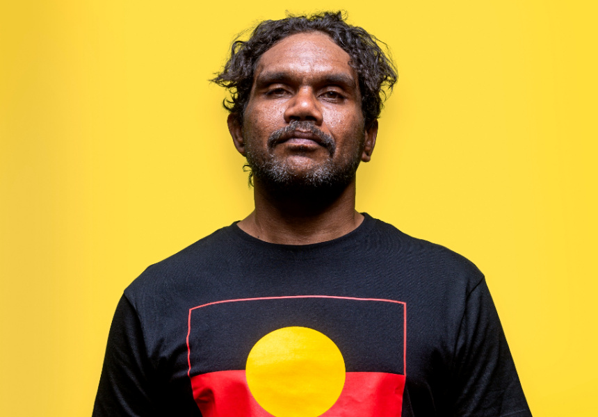 Vincent Namatjira, courtesy of Iwantja Arts