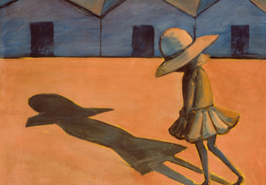 "Charles Blackman, ""The Shadow"", 1953"