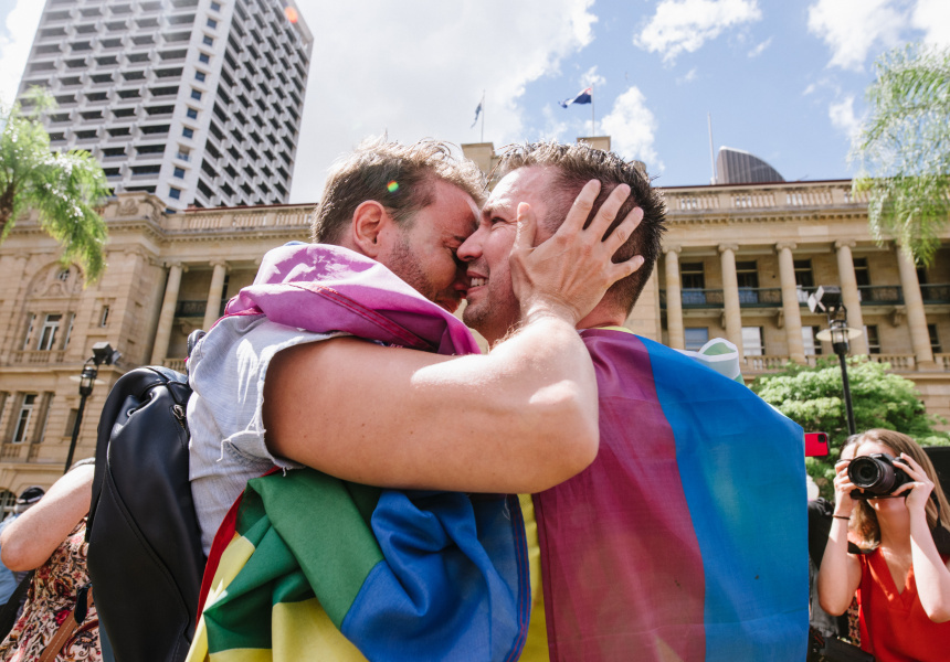 BREAKING NEWS  Gallery: Brisbane Same-Sex Marriage Survey Announcement (November 15, 2017)