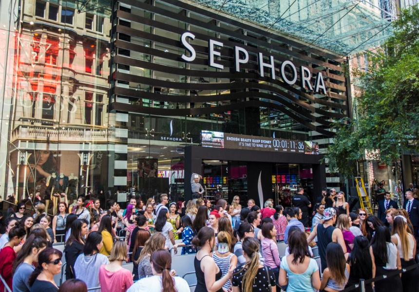Sephora store, Sydney