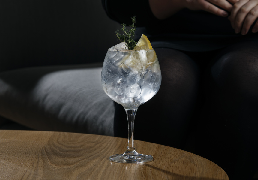 Thyme Gin and Tonic