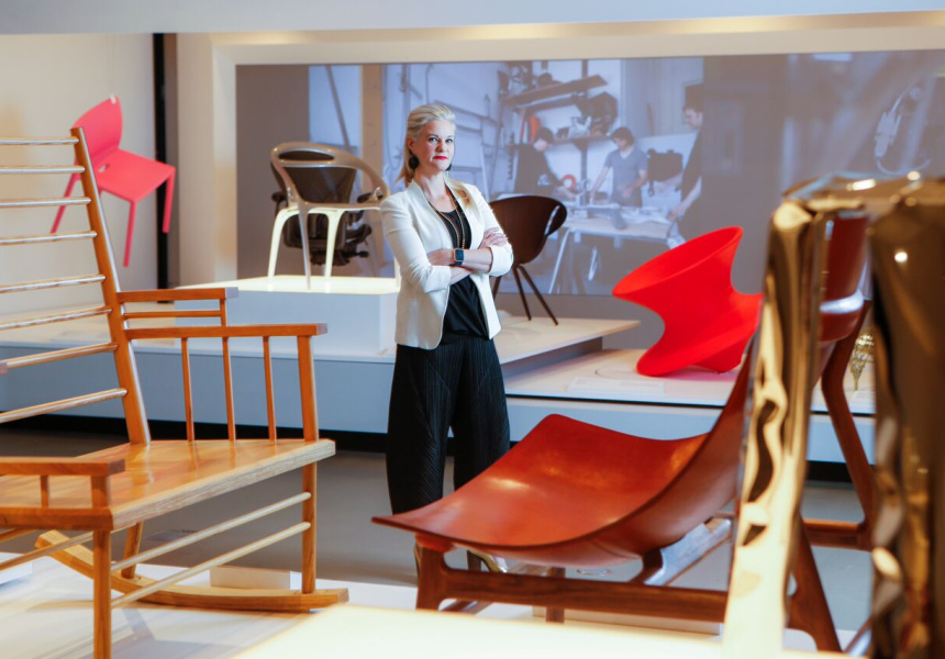 """Creating the Contemporary Chair"" Exhibition"