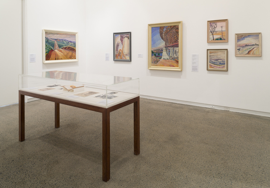O'Keeffe, Preston, Cossington Smith: Making Modernism Installation view Heide Museum of Modern Art