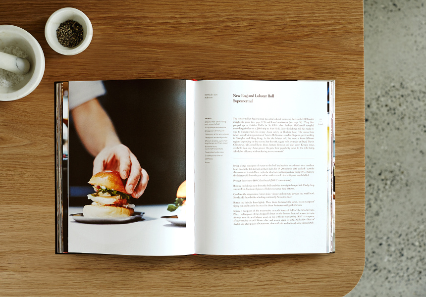 """New England Lobster Roll* from Supernormal, The Broadsheet Cookbook"