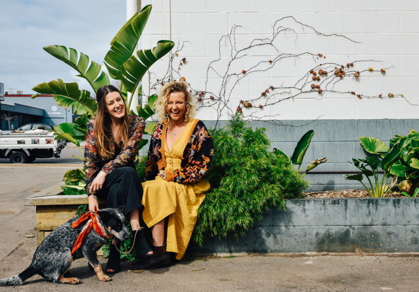 Founders Sian Walden and Sharni Honor