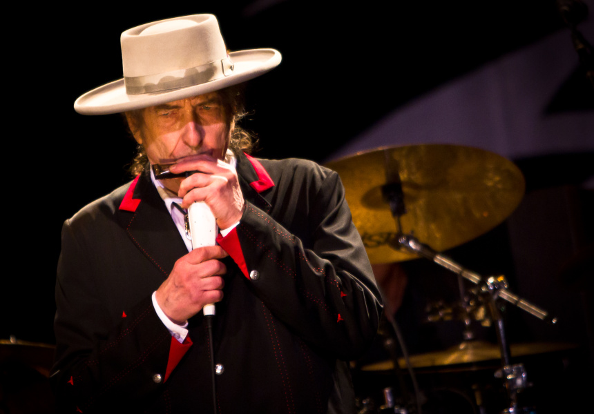 Bob Dylan hits the Bluesfest stage in 2011