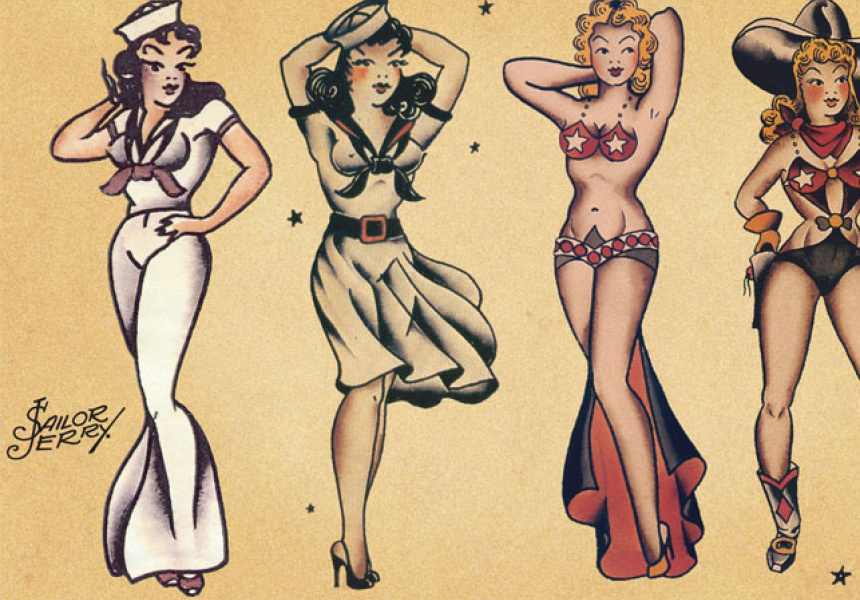 Sailor Jerry The Grandfather Of Classic American Tattoos Broadsheet