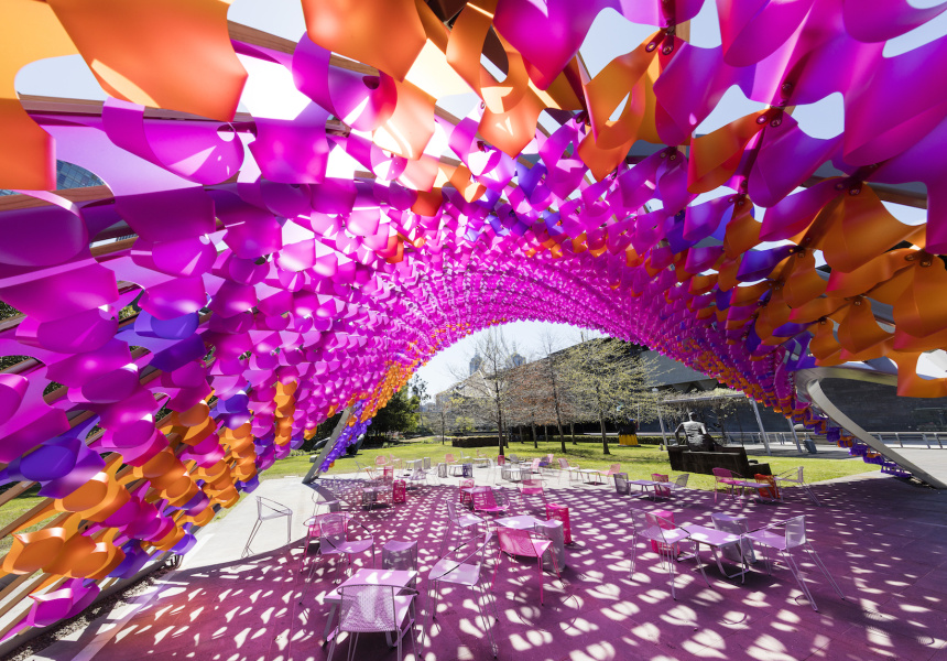 2015 Summer Architecture Commission by John Wardle Architects at NGV International