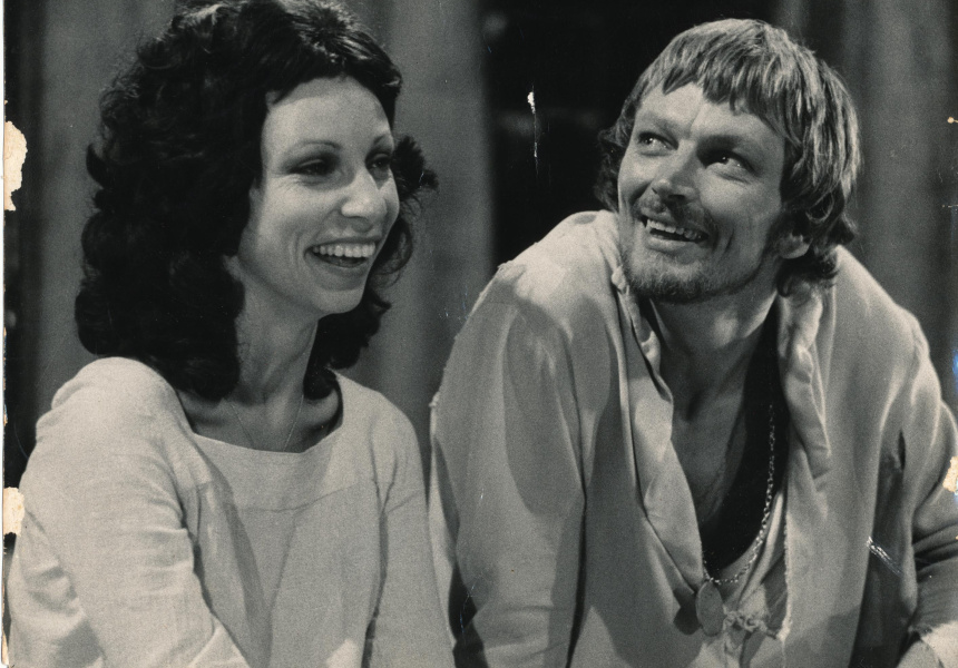 John Bell in Hamlet, 1972