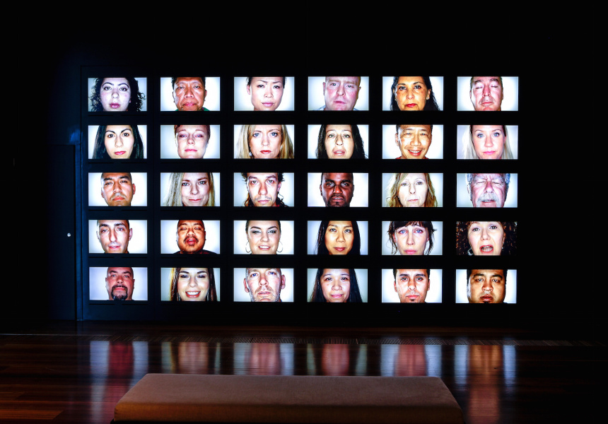 Installation view of Who's Afraid of Colour at The Ian Potter Centre: NGV Australia.