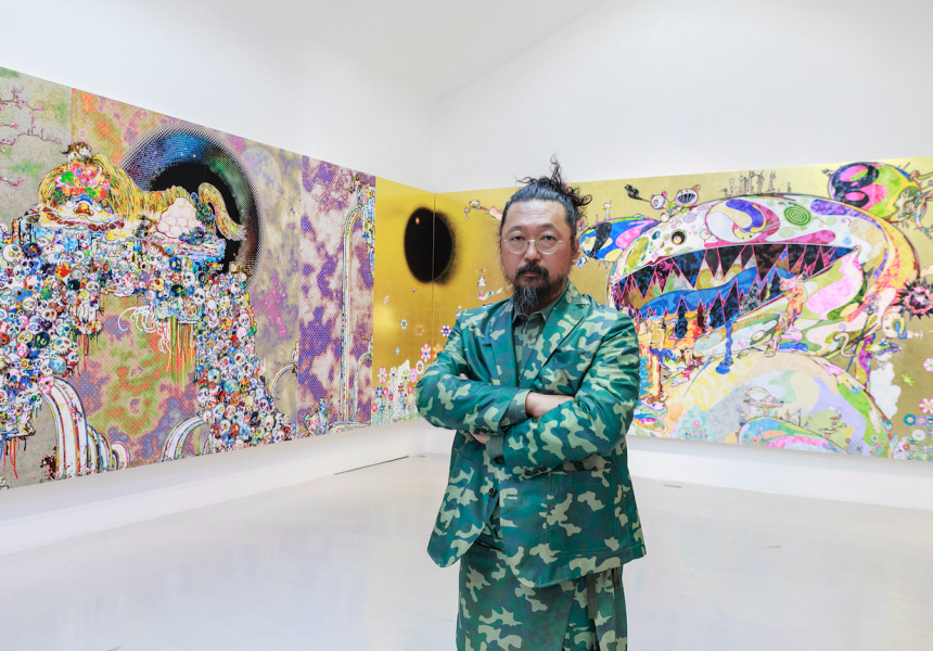 Takashi Murakami, Japan supernatural