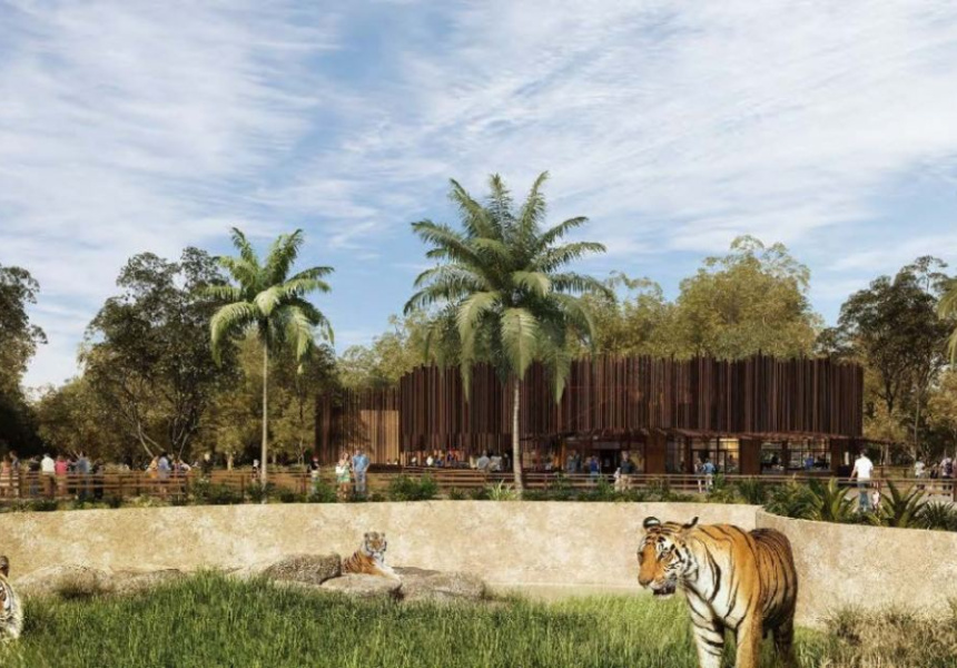 Sydney Zoo artist impression