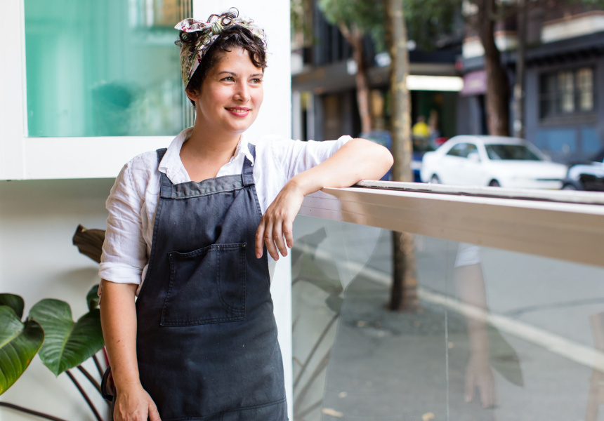 Analiese Gregory, head chef at Sydney's Bar Brosé.