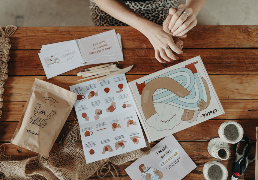 Crockd's New DIY Pottery Kits Get You Out of Your Head and Into Your Hands