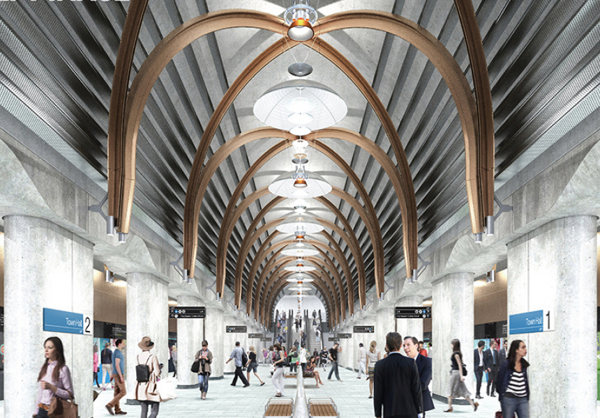 State Library Station concept image