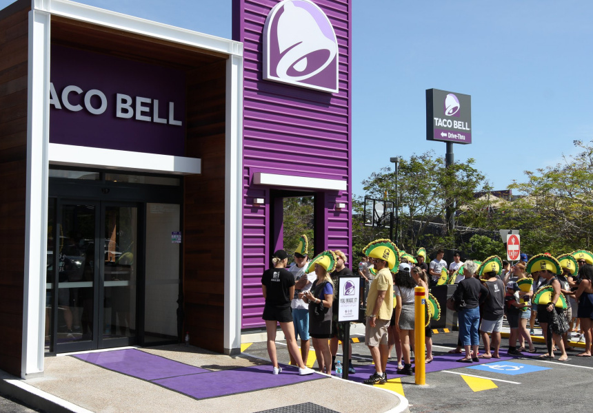 Taco Bell in Robina, Queensland