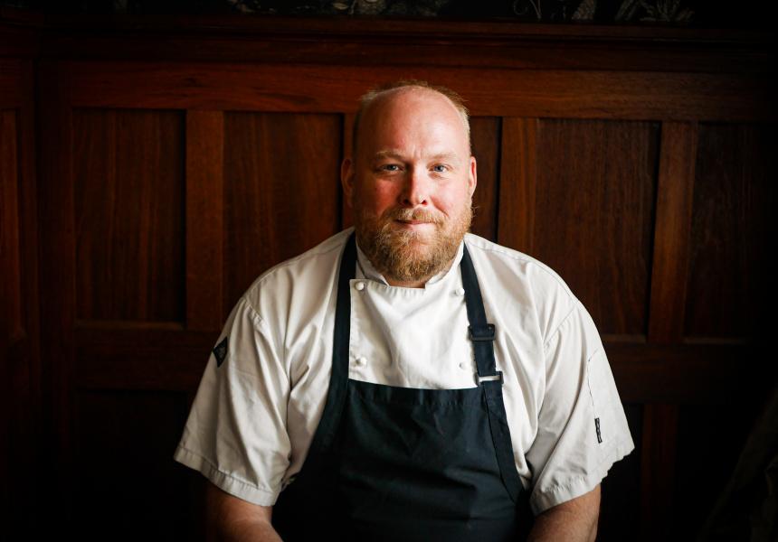 New head chef Gordon Kahle