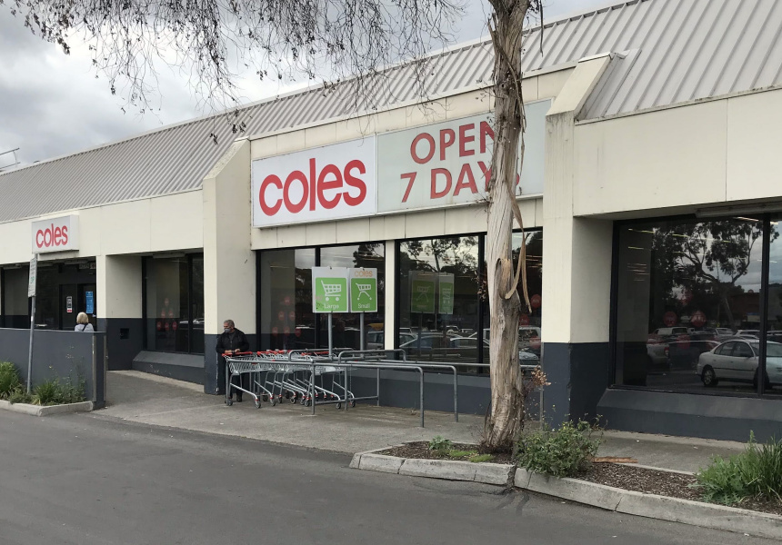 The former Coles site