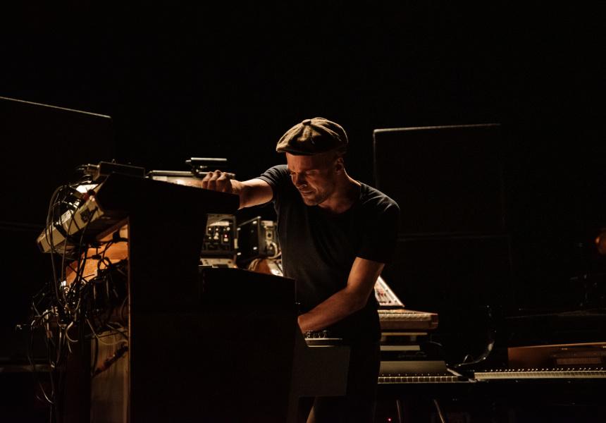 Nils Frahm's live show