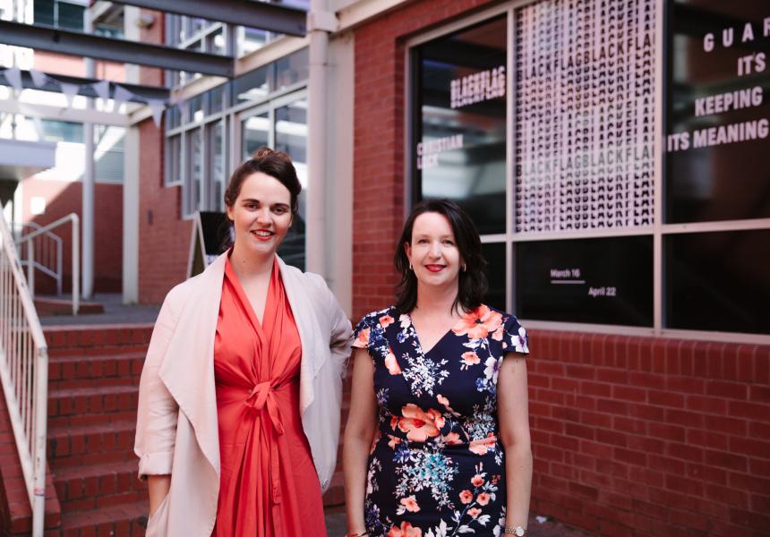 Liz Nowell and Sarita Burnett, ACE Open