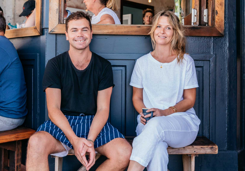Owners Sam Smith and Sarah Hendriks