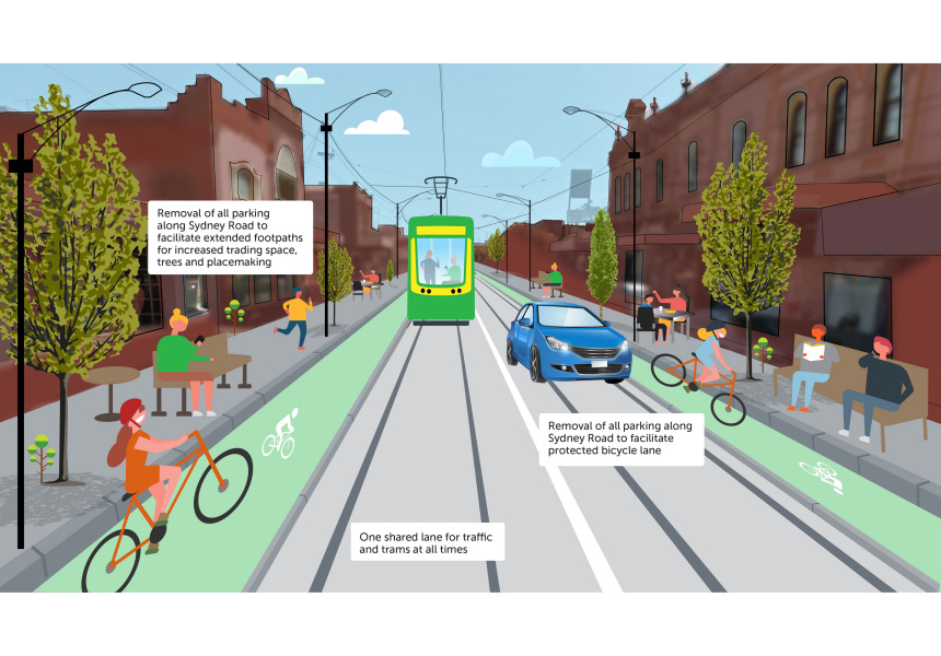 Option 3 of the Department of Transport Survey