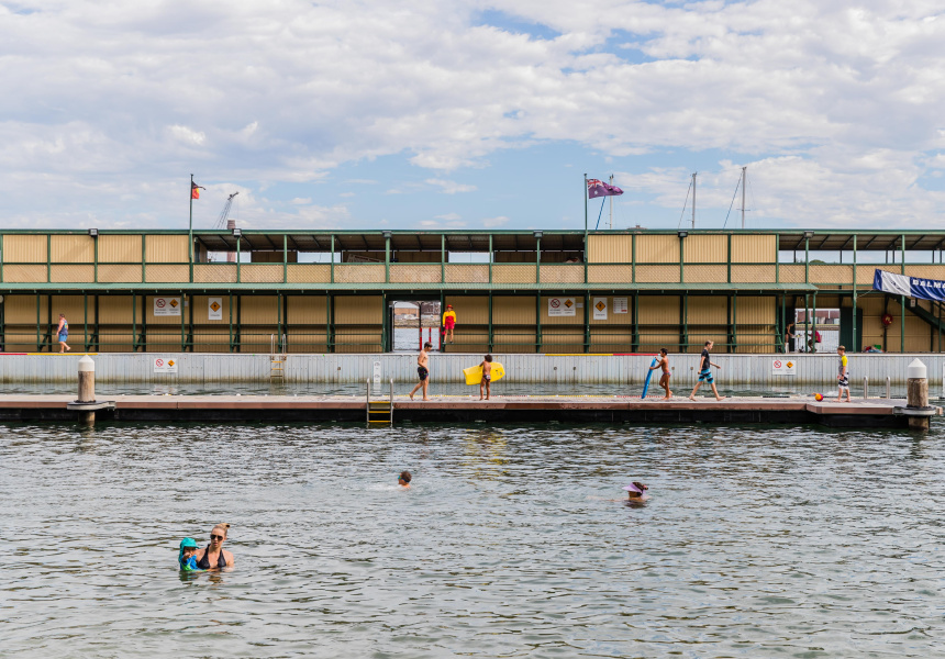 Dawn Fraser Baths (Tom Higgson, lifeguard)