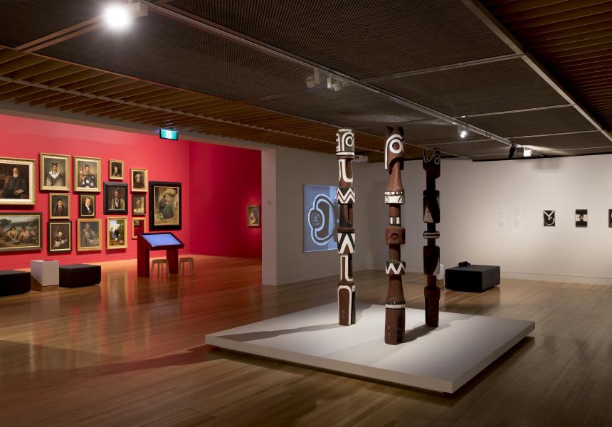 Tūrangawaewae Art and New Zealand,  exhibition view, 2018. Image courtesy of Te  Papa