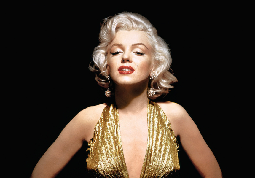 Marilyn Monroe portrait for Gentlemen Prefer Blondes