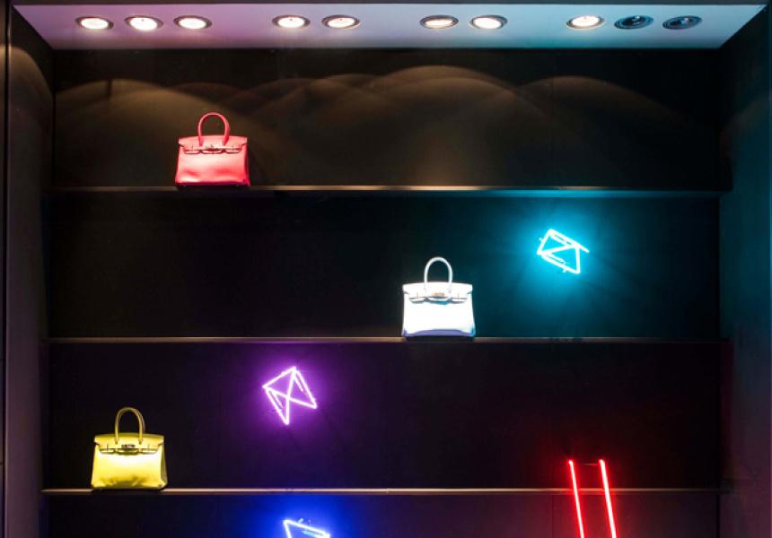 Hermès Sydney flagship window display, 2012