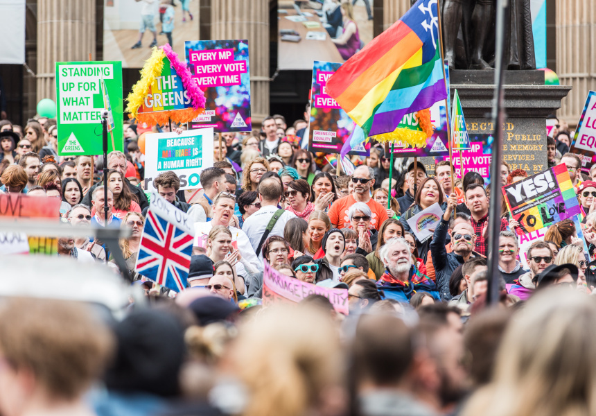 Melbourne's Marriage Equality Rally