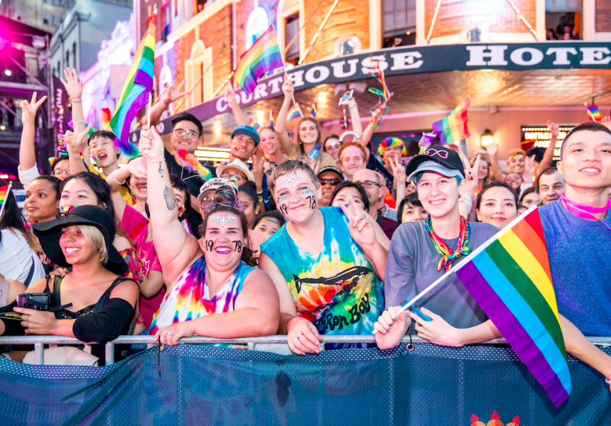 """Francois Illas New Tradition: Sydney Gay And Lesbian Mardi Gras Unleashes Its """"Fearless"""