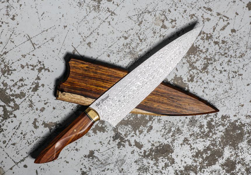 Aidan Mackinnon Quit His Desk Job for Knives - Broadsheet
