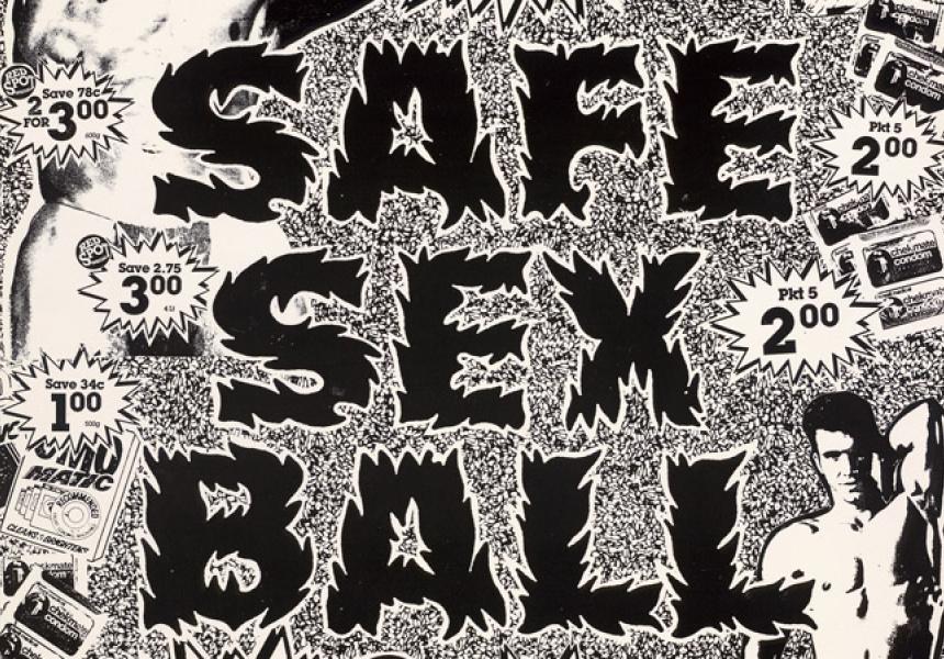 David McDiarmid, Safe sex ball June 11 1988, 1988