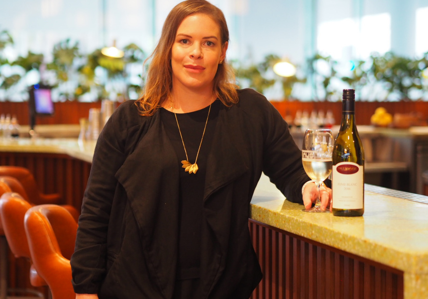Truffle Kerfuffle director of wine, Rachael Niall.